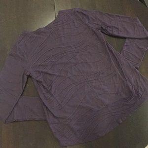 🔴2/$50🔴 PRETTY Purple Long Sleeve Top 💜